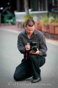 Wedding videographer working in Perth